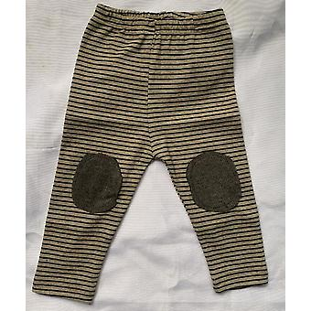 Newborn Baby Pants Infant Kids Striped Leggings Pants Baby Stretch Trousers