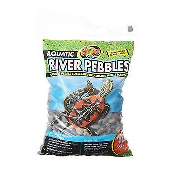 Zoo Med Aquatic River Pebbles - 10 lbs