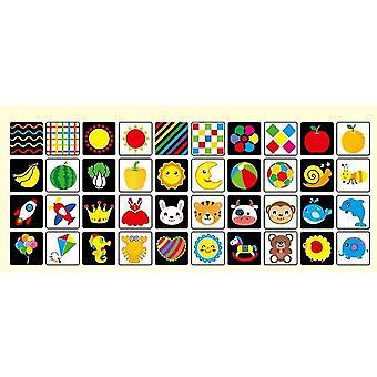 Koulutus flash kortit tunne oppiminen kortti englanti tunne flash kortit lapselle
