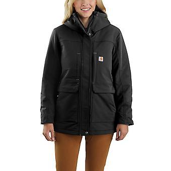 Carhartt Женская зимняя куртка Super Dux Расслабленная посадка Утепленное традиционное пальто