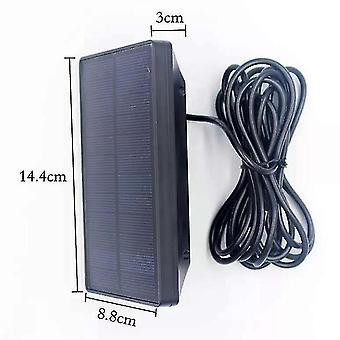 Cámara de caza al aire libre panel solar 1800mah 9v batería de cargador impermeable para la cámara de seguimiento ordinaria