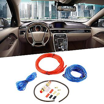 800w 8ga Car Audio Subwoofer Amplifier Amp Wiring Fuse Holder Wire Cable Kit