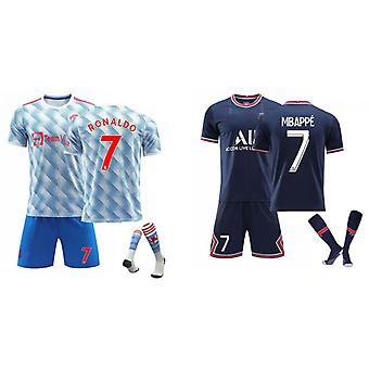 Cristiano Ronaldo Manchester United & Mbappé Camiseta (Set de ropa infantil