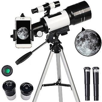 Astronomisches Teleskop 15x-150x Refraktorreflexion
