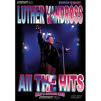 Luther Vandross - All the Hits [DVD] USA import