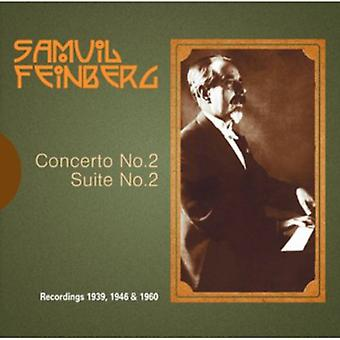 Ussr State Symphony Orch - Samuil Feinberg: Piano Concerto No. 2; Suite for Piano [CD] USA import