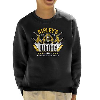 Building Better Bodies Alien Kid's Sweatshirt