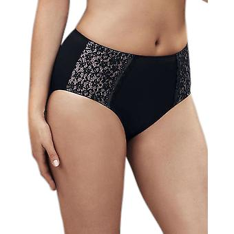 Anita 1512-001 Women's Comfort Havanna Black Full Panty Highwaist Brief