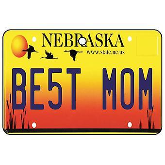 Nebraska - beste mamma nummerskilt bil Air Freshener