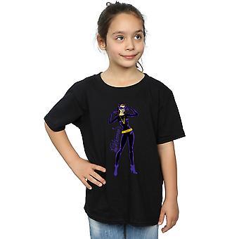 DC Comics Girls Catwoman Happy Pose T-Shirt