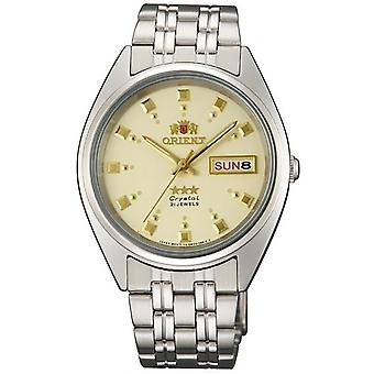 Orient 3 Star Watch FAB00009C9 - Stainless Steel Unisex Automatic Analogue