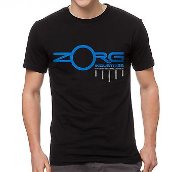 The Fifth Element Zorg Weapon Systems Men's Black T-shirt