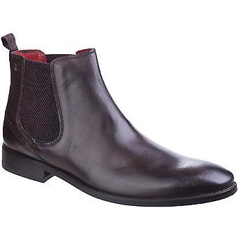 Basis Londen Mens Cheshire glad leer formele Dealer van Chelsea Boots