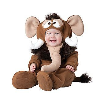 Wee Wooly Mammoth Elephant Prehistoric Toddler Boys Costume