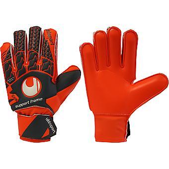 UHLSPORT AERORED SOFT SUPPORTFRAME JUNIOR Goalkeeper Gloves