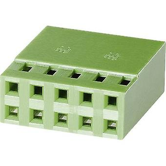 TE Connectivity Socket enclosure - cable AMPMODU MOD IV Total number of pins 20 Contact spacing: 2.54 mm 1-925367-0 1 pc(s)