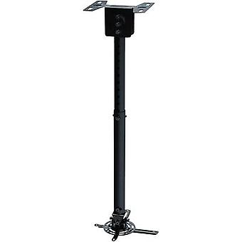 NewStar BEAMER-C100 Projector ceiling mount Tiltable, Rotatable Max. distance to floor/ceiling: 83 cm Black
