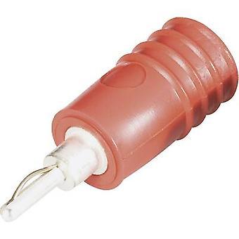 Plug-to-plug connector 2 mm plug - 4 mm socket Red Schnepp ÜS 2040 1 pc(s)