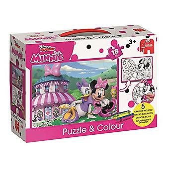 Disney Minnie Happy Helpers Puzzle & couleur