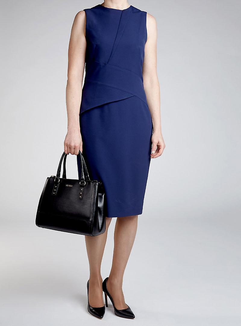 VIVER Leather Handbag Olle Black