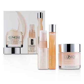 Clinique Moisture Surge Set: Moisture Surge 72-hr 75mlMD All About Eyes Serum 15mlMD Moisture Surge Face Spray Thirsty Skin Relief 30ml - 3pcs