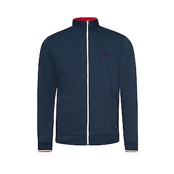 Merc Men's Retro Track-top TRUMAN with Ribbed hem and cuffs