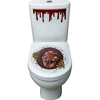 Zombie Portal toilet seat sticker