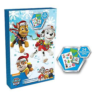 Paw Patrol Advent Calendar with 24 Surprise Gift (CPAW086)