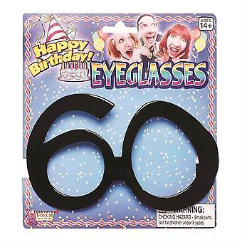 誕生日メガネ 60