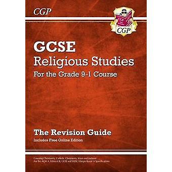 Nye klasse 9-1 GCSE religiøse studier - revisjon Guide med Online redigering