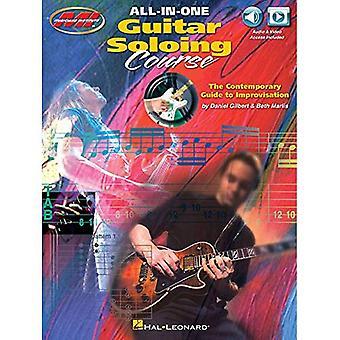 All-In-One guitar Soloing corso - la guida contemporanea all'improvvisazione