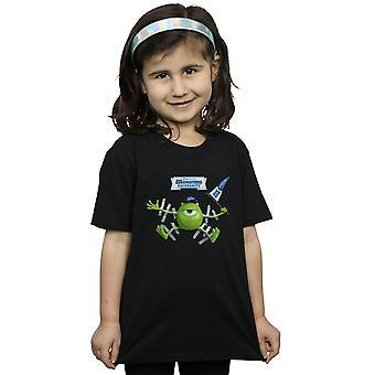 Disney meisjes Monsters Universiteit afgeplakte Mike T-Shirt
