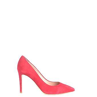 Ninalilou Ezbc115002 Women's Red Suede Pumps