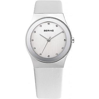 Classique de horloge montre mince Mesdames Bering - 12927-804 en cuir