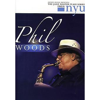 Phil Woods - Jazz Master Class Series From Nyu [DVD] USA import