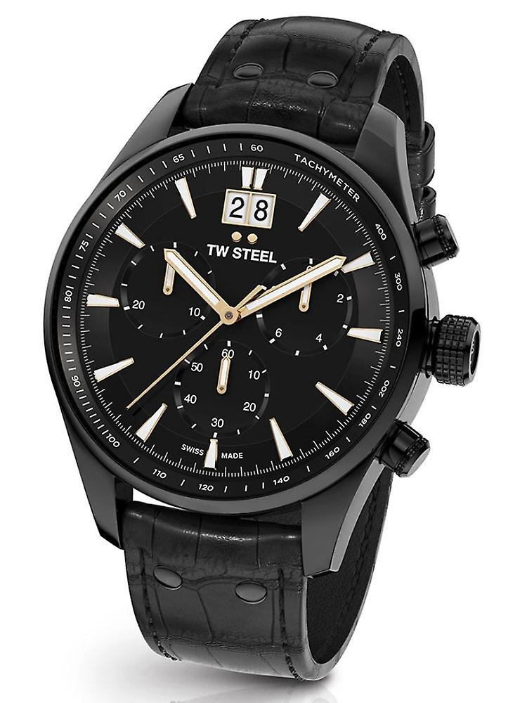 TW Steel Ace304 ancient Aternus Swiss Made chronograph mens watch 45 mm