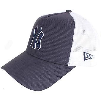 New Era New York Yankees Diamond Era A Frame Trucker Cap-Navy/White