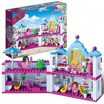 BanBao Interlocking Blocks Beauty Salon Building Set (382 Pieces)