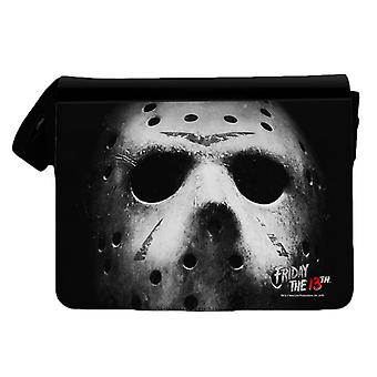 Friday the 13th Jason Mask Messenger Bag
