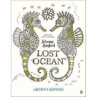 Lost Ocean Artist's Edition - An Inky Adventure and Coloring Book for