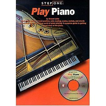 Step One - Play Piano by Ernest Lubin - 9780825616105 Book