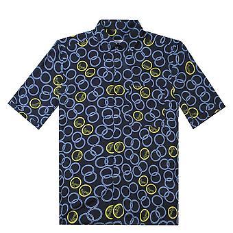 Versace coleção bolso camisa de manga