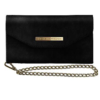 iDeal Mayfair Clutch samt schwarz iPhone 8/7/6/6s