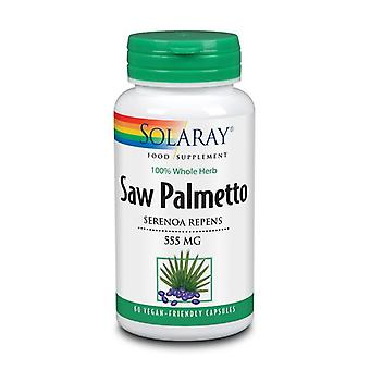 Solaray Sierra Palmetto 550mg Cápsulas 60 (85412)