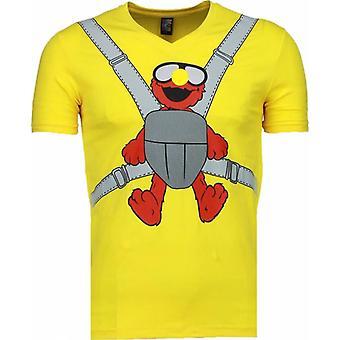 Baby Bear-T-shirt-Yellow