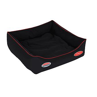 Weatherbeeta Therapy-tec Dog Bed - Black/red