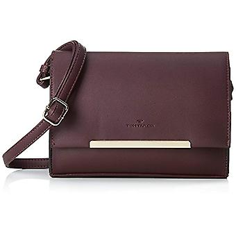 Tom Tailor 24035 Women's Red shoulder bag (red (wine 48)) 5.5x17x23.5 cm (B x H x T)