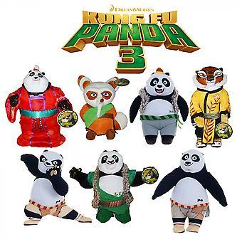 Kung Fu Panda pluche middelgrote 25cm (een meegeleverd)