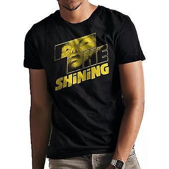 The Shining Unisex Adults Yellow Logo T-Shirt
