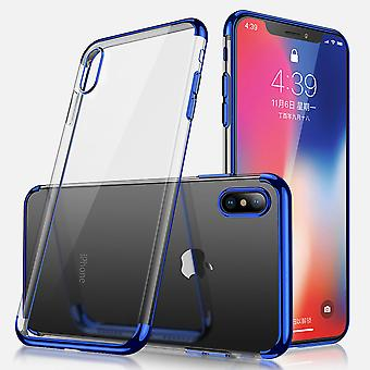 Electro TPU Case +2 screen protectors for iPhone X/XS